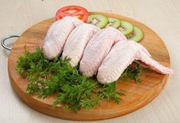 asas de frango são fritos: as melhores receitas