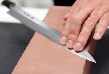 ¿Cómo es la cuchillos afilar correctamente en el hogar?