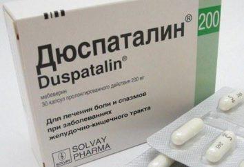 """analogico a buon mercato """"Duspatalin"""": rate, composizione, istruzioni per l'uso e il feedback"""