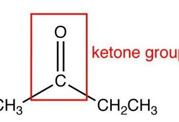 Chetoni: proprietà chimiche e la determinazione