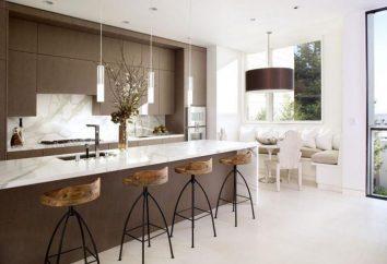 Interiores hermosas cocinas: ejemplos. Hermosa cocina moderna