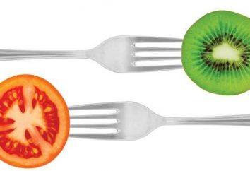 Menu diététique pour la semaine ou les principes de base de la perte de poids