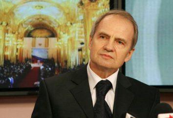 Avocat Zorkin Valeriy Dmitrievitch: biographie, les prix et la famille