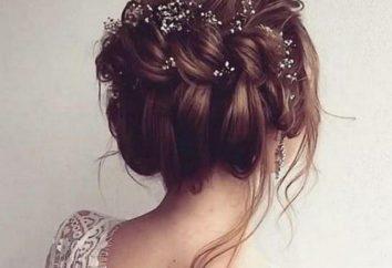 Oryginalne i piękne fryzury ślubne bez welonu: opis, pomysły i zalecenia