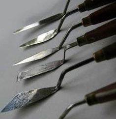 Paleta nóż – co to jest? Jak narysować szpachlą?