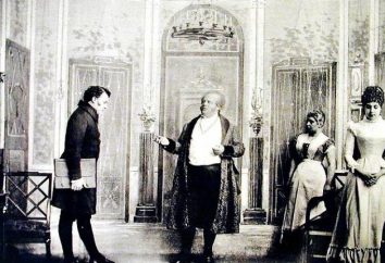 Un essai sur le thème « MOLCHALIN Ludicrous ou terribles » Griboïedov dans la comédie « Malheur de Wit »