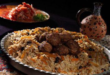 Comment faire cuire le risotto au Shah d'Azerbaïdjan: la recette avec une photo