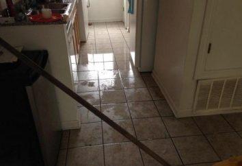 Überflutete Nachbarn unten: Was tun? Schadenersatz