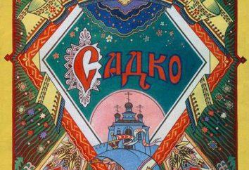 épique Novgorod: à ce cycle de appartient épique « Sadko »