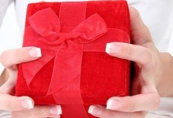 Co dać ulubione rocznicę stosunków? Prezent z miłości!