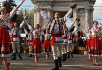 SSR moldávio: História da Educação, descrição, regiões e cidades. Os braços e bandeira moldava SSR