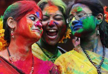 Festival der Farben in Indien – Holi Feier. Die Geschichte der Entstehung des Festes