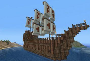 """Come costruire una nave in """"Maynkraft"""" e costringerlo ad andare?"""