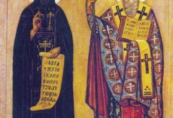 Los nombres de los santos rusos. Vidas de los santos rusos