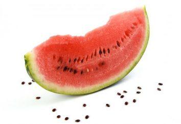 Posso mangiare anguria con i semi? proprietà utili e danni alle sementi anguria