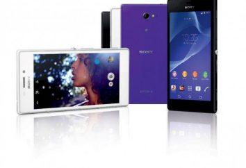Sony Xperia M2: przegląd, specyfikacje, opinie