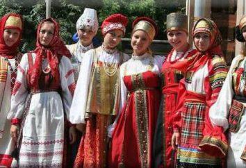 Ludy obszarze Samara: nazwiska, tradycje, stroje