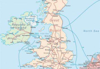 Où se trouve le Royaume-Uni? Les coordonnées géographiques du Royaume-Uni