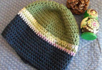 casquillo del ganchillo de los hombres: una clase magistral para los principiantes. Cómo atar gancho sombrero de hombre?