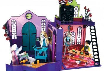"boneca da moda ""Monster High"""