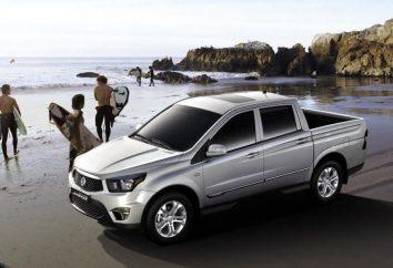 Comentários proprietários SsangYong Actyon Sports, descrição, características e características de carros