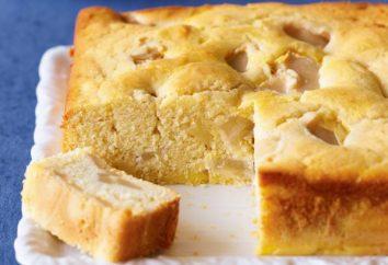 Cómo cocinar un pastel de manzana con rapidez: Receta