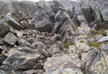 Rock: die Arten von Felsen. Rock Herkunft. Gesteinsarten