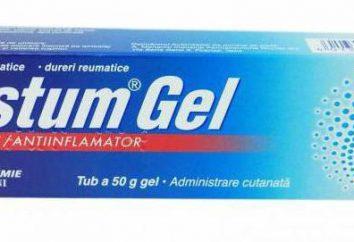"""""""Fastum-gel"""": analogico più economico. Recensioni, costo"""
