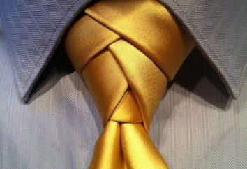 Jaki powinien być węzłem krawata?