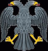 symboles russes: l'hymne, drapeau tricolore et l'aigle à deux têtes