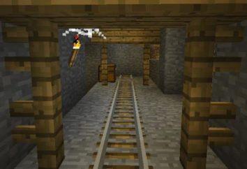 """Game """"Abbandonato il mio."""" miniere abbandonate in Minecraft"""