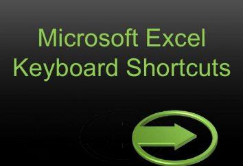 teclas de acceso rápido de Excel (combinación de teclas)