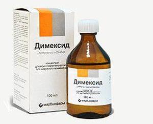 """Preparación """"Dimexidum"""" (solución). Instrucciones de uso"""