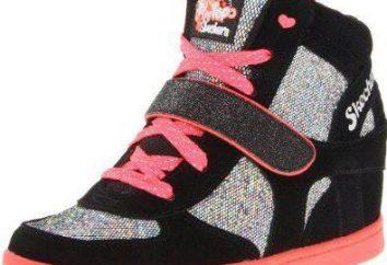 Zapatillas de deporte para las chicas: Descripción