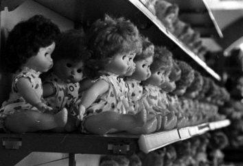 ZSRR lalka. Zabawki radzieckie dzieci