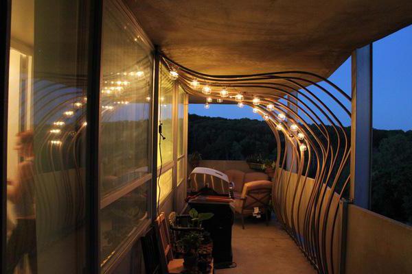 Quale dovrebbe essere l illuminazione sul balcone