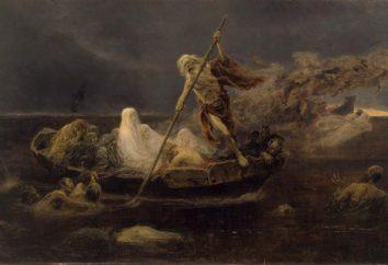 Przewoźnik Charon. Mitologia starożytnego świata