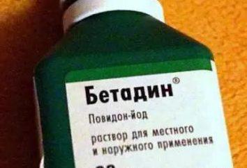"""""""Povidona"""" – ¿qué es? """"Povidona yodada"""": Descripción de la droga, instrucciones de uso"""
