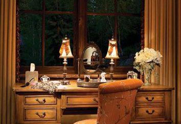 Toaletka z lustrem – zasadniczą meble do sypialni