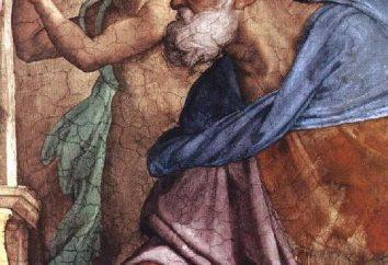 Prorok Ezechiel. Dzień Pamięci świętego proroka Ezechiela