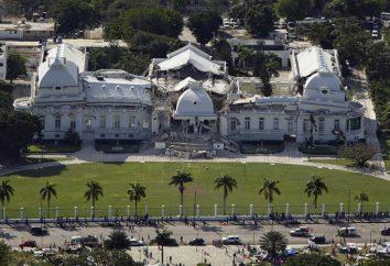 Głównym trzęsienie ziemi na Haiti