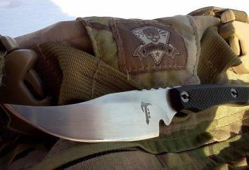 """Knife """"Katran"""" e suas modificações"""