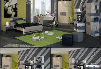 Interior da sala para um adolescente. Design de uma sala de crianças para um menino