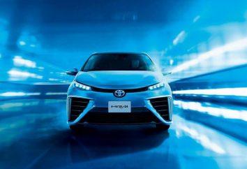"""moteur à hydrogène, """"Toyota"""". un atome d'hydrogène alimenté Toyota Mirai"""