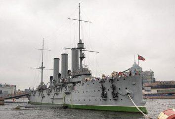 """Cruzador """"Aurora"""" – um navio, conhecido one-shot. Principais características, cruzador história"""