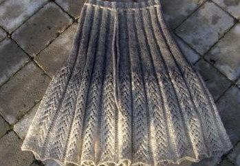 crochet falda para las niñas: Secretos de tejer