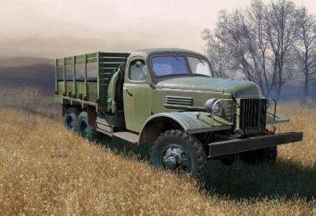 ZIS-151 – période de camion soviétique avec trois essieux moteurs