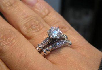 """Wedding """"Adamas"""" pierścienie: opis i opinie"""