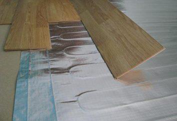Fußbodenheizung auf dem Balkon: die Wahl der Materialien, die Gerätefunktionen