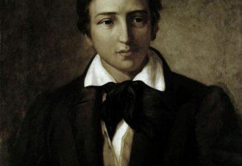 """. M. Yu Lermontov, """"pino"""": el contenido del poema y análisis. Lo Lermontov poema """"Pino""""?"""